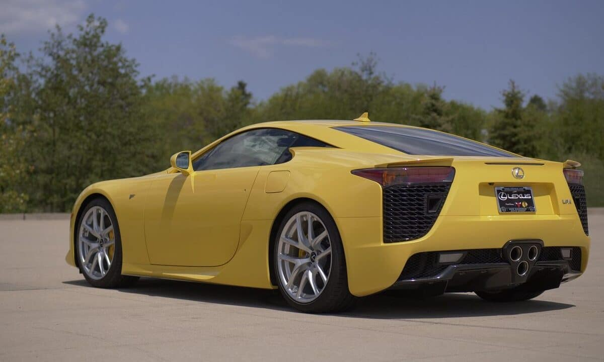 Lexus LFA 2012 by Bring A Trailer