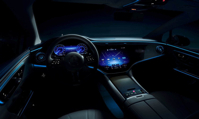 Mercedes-Benz EQE Teaser Images