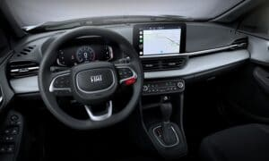 New Fiat Pulse Interior