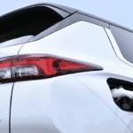New Mitsubishi Outlander PHEV rear teaser