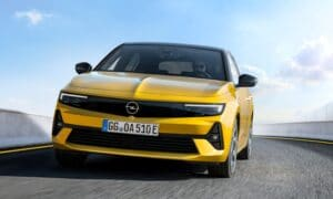 The new 2021 Opel Astra