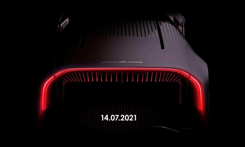 Pininfarina rear teaser