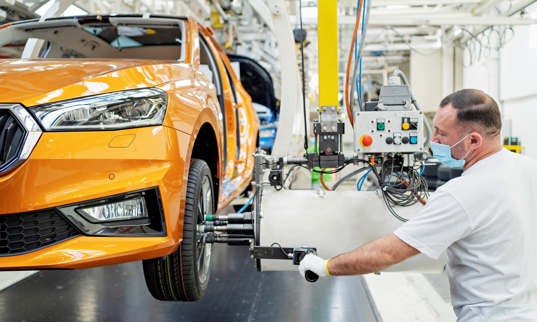 Start of production of the new Skoda Fabia at main plant in Mladá Boleslav