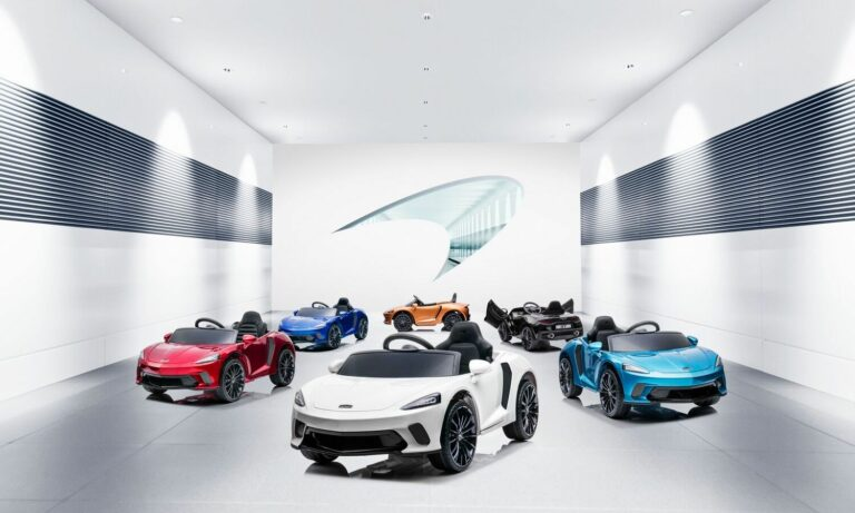 The New McLaren GT Ride-On The Talk of the Playground