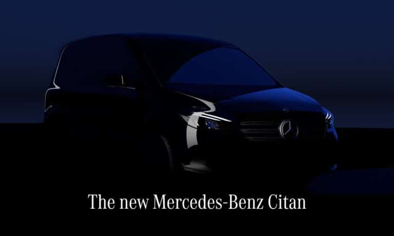 The new Mercedes-Benz Citan. Compact outside dimensions with generous space and high functionality