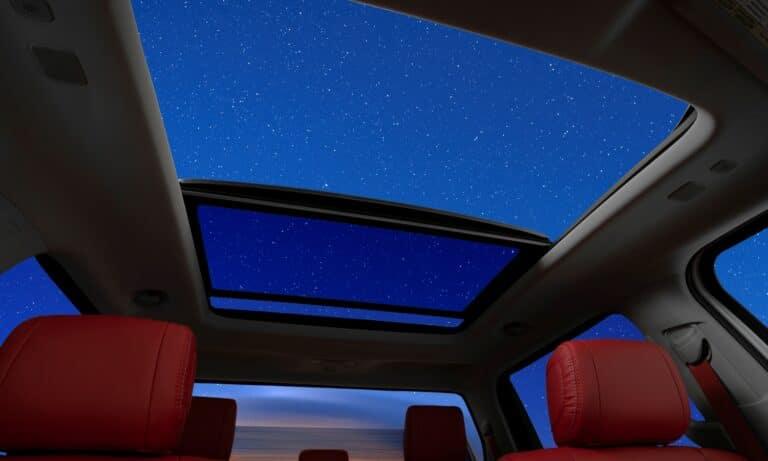 Toyota Tundra 2022 cristal roof teaser original