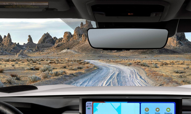Toyota Tundra 2022 inside teaser