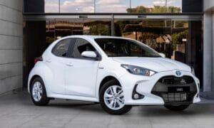 Toyota Yaris ECOVan Electric Hybrid