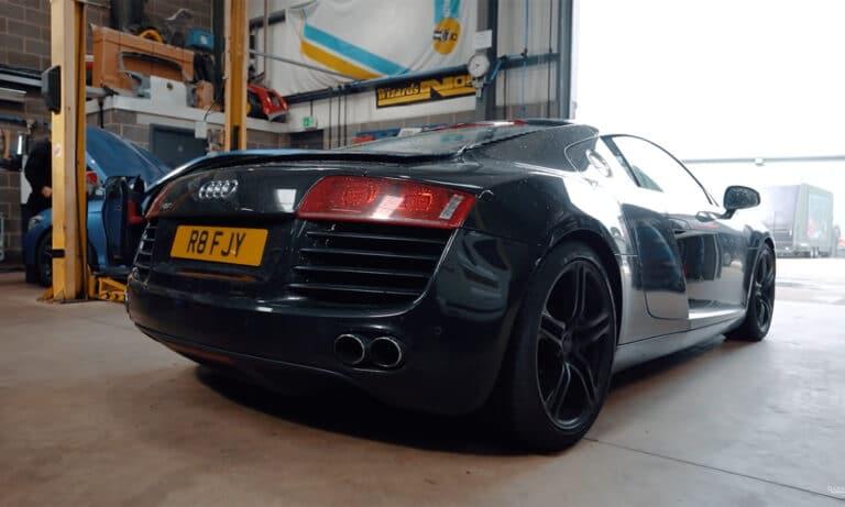 Audi R8 diésel proyecto