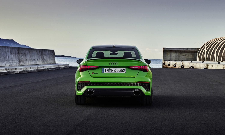 Audi RS 3 trasera