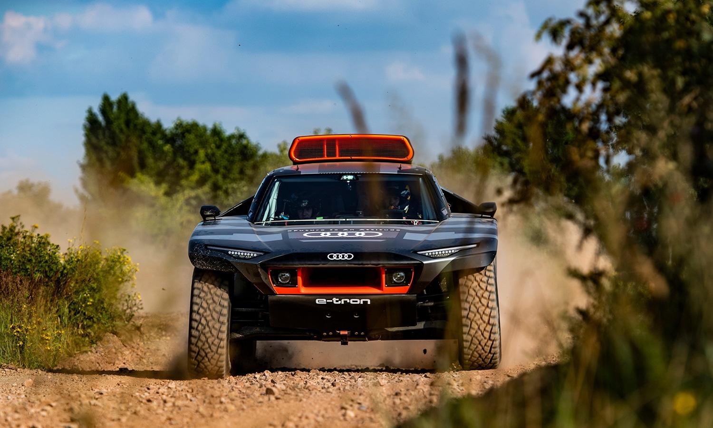 Audi RS Q e-tron frontal