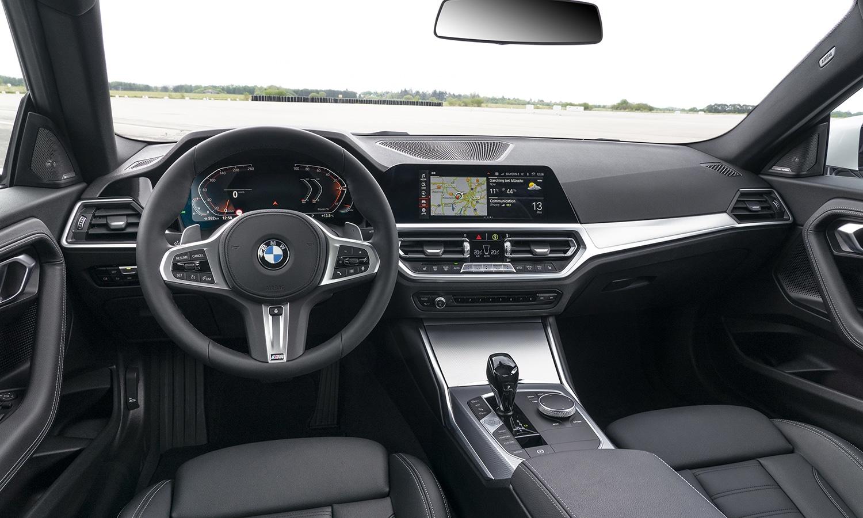 BMW Serie 2 Coupé interior