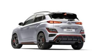 Hyundai Kona N trasera