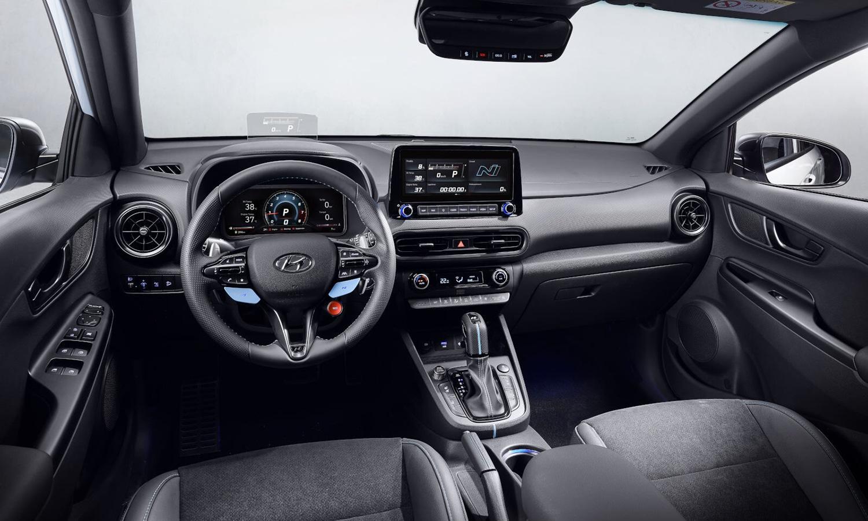 Hyundai Kona N interior