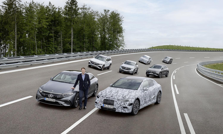 Mercedes eléctricos 2030
