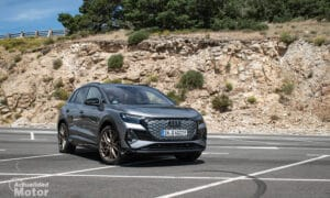 Prueba Audi Q4 e-tron eléctrico