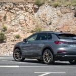 Prueba Audi Q4 e-tron perfil trasero