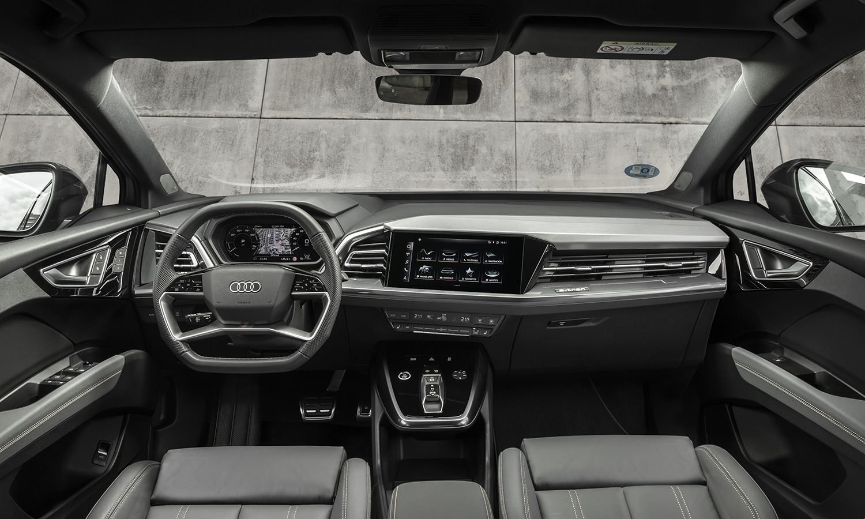 Prueba Audi Q4 e-tron interior