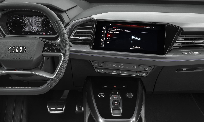 Prueba Audi Q4 e-tron Matrix LED configurables