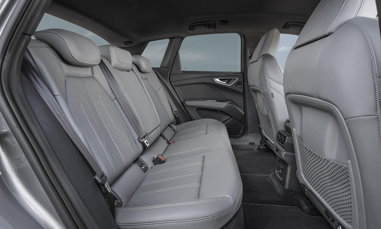 Prueba Audi Q4 e-tron espacio plazas traseras