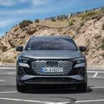 Prueba Audi Q4 e-tron frontal