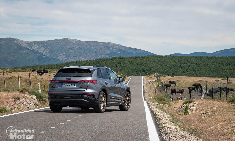 Prueba Audi Q4 e-tron 50 trasera