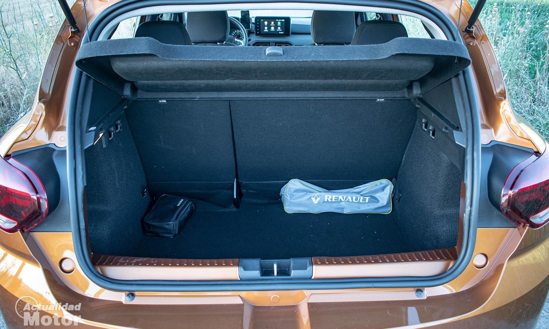 Prueba Dacia Sandero Stepway maletero
