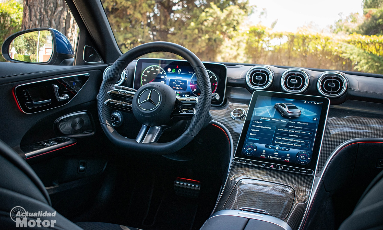 Prueba Mercedes Clase C interior