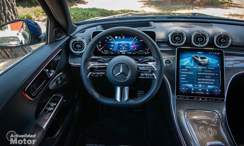 Prueba Mercedes Clase C volante