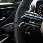 Prueba Mercedes Clase C volante táctil