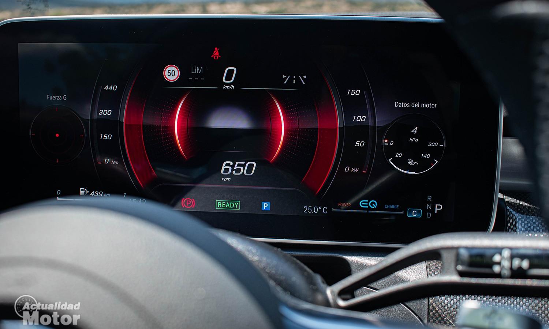 Prueba Mercedes Clase C cuadro digital
