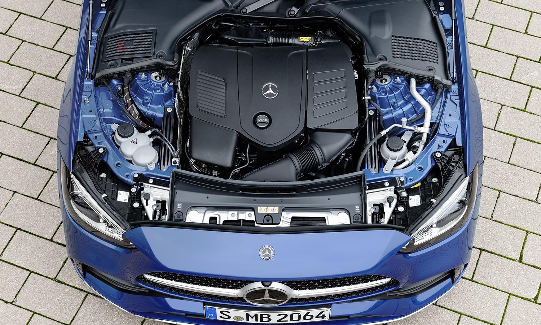 Prueba Mercedes Clase C 2021 motores