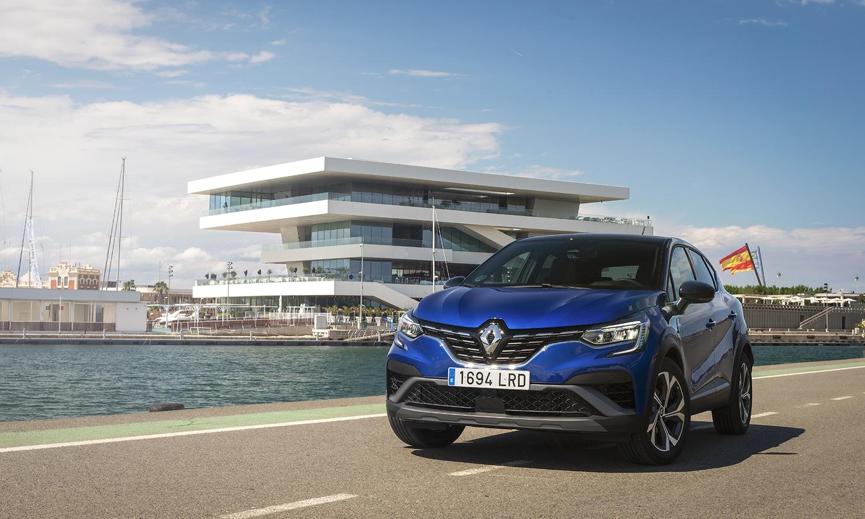 Prueba Renault Captur E-Tech RS Line delantera