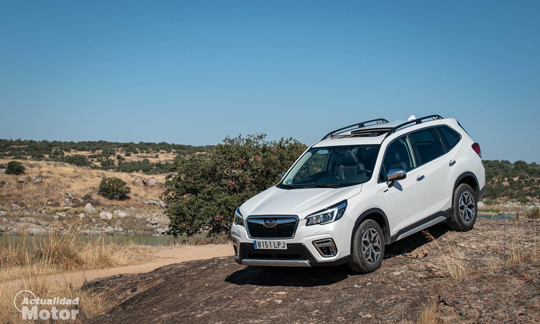 Prueba Subaru Forester Eco Hybrid