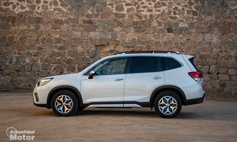 Prueba Subaru Forester lateral