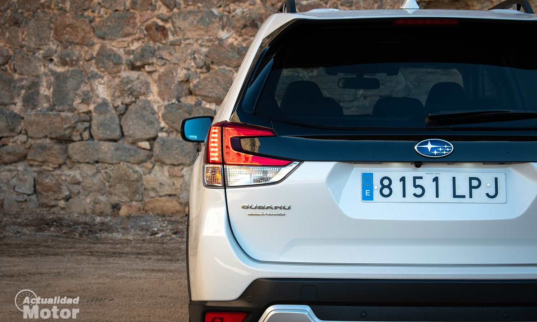 Prueba Subaru Forester trasera