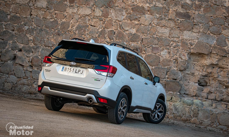 Prueba Subaru Forester perfil trasero