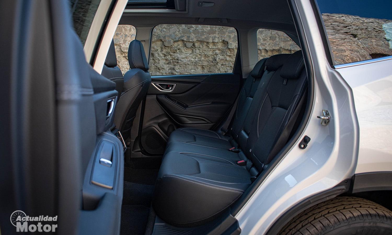 Prueba Subaru Forester plazas traseras