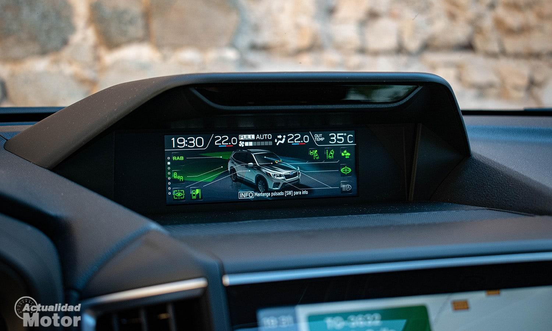 Prueba Subaru Forester pantalla información