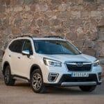 Prueba Subaru Forester perfil delantero
