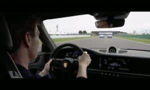 Top Gun promoción Silverstone Porsche Tom Cruise