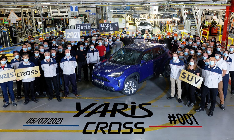 Toyota Yaris Cross fábrica