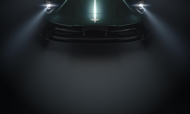 Aston Martin Valkyrie Roadster teaser - Pebble Beach Concours d'Elegance