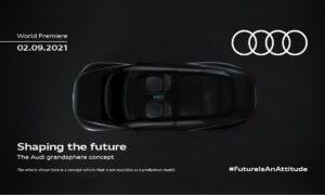 Audi Grandsphere Concept Teaser