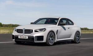 BMW M2 front render by Kolesa
