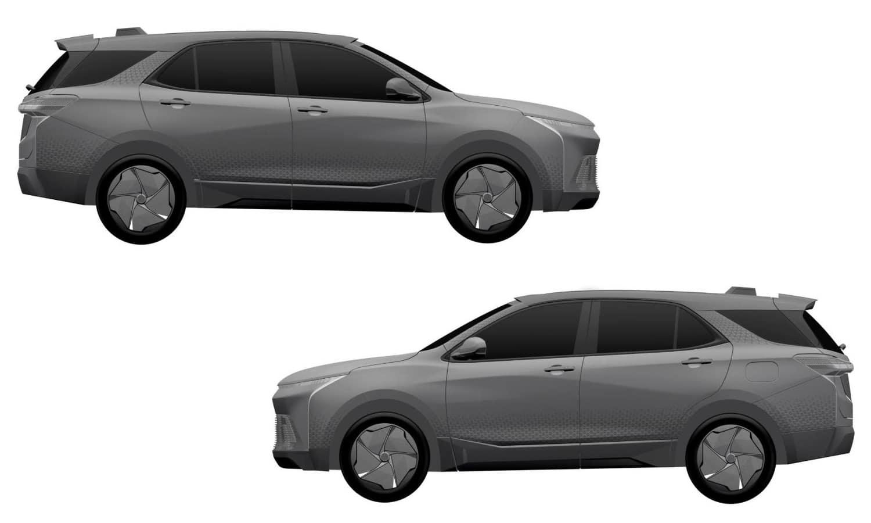 Chevrolet Equinox Electric - Full Hybrid patent 1