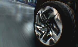 Chevrolet Silverado previews Available Four-Wheel Steer on Silverado electric pickup.