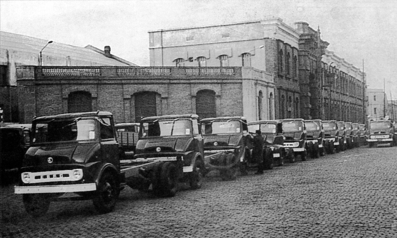 Ebro fábrica Barcelona 1965 - Motor Ibérica S.A.