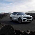 Jaguar F-Pace SVR - Ionian Silver with New Black Pack