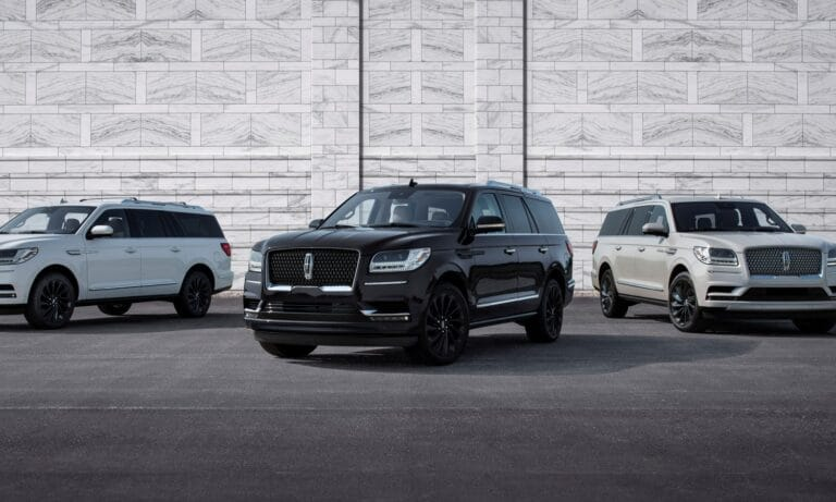 2020 Lincoln Navigator Reserve with Monochromatic Package